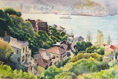 Phil Dickson - artist based in Lower Hutt Valley, Wellington, New Zealand New Zealand Art, New Zealand Travel, Wellington New Zealand, Nz Art, Art Academy, Art Club, Community Art, Walkway, Home Art