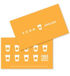 coffee loyalty card - Google Search