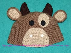 Animal Hat by HeathersAddiction on Etsy, $20.00