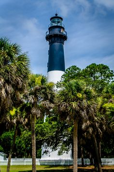 Hunting Island Lighthouse near Beaufort, SC