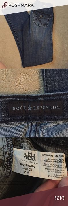 Rock and Republic Jeans Size 2 Rock & Republic Jeans Rock Republic Jeans, Fashion Tips, Fashion Design, Fashion Trends, Jeans Size, Size 2, Denim, Shopping, Things To Sell