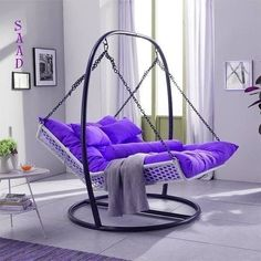 Extraordinary Backyard Hammock Design Ideas is part of Indoor chairs - The hammock brings about a sense of relaxation Lying on a hammock, can take a person away from the frustrations […] Iron Furniture, Home Furniture, Furniture Design, Purple Furniture, Furniture Online, Cheap Furniture, Living Room Decor, Bedroom Decor, Living Room Hammock