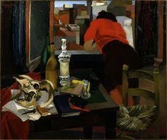 Donna alla finestra 1942. Renato Guttuso (1911-1987)