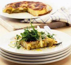 Tortilla with rocket & parmesan