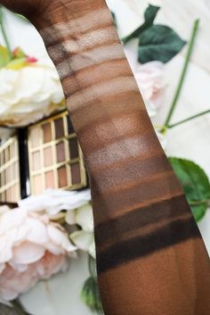 Milani Soft and Sultry Eyeshadow Palette Swatches on Dark Skin Eyeshadow Looks, Eyeshadow Palette, Makeup Eyeshadow, Brown Skin, Dark Skin, Beauty Makeup Tips, Beauty Hacks, Smoke Screen, Milani Cosmetics