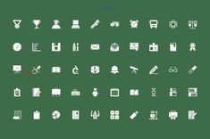 Education Vector Icons - Vol 2 by Creative Stall on Creative Market<br> Education Icon, Education Reform, Educational Websites, Educational Technology, Sight Words, Thumbnail Design, Real Estate Icons, Monogram Cake Toppers, Computer Icon
