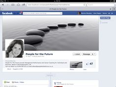 Facebook Page Set Up for People For The Future Create Page, Facebook Search, Search People, Career Coach, Flourish, Coaching, Product Launch, Social Media, Future