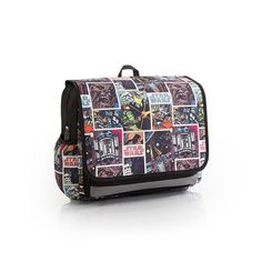 Star Wars Tween Messenger. The Star Wars Messenger features designs from the classic Star Wars film, suitable for tweens and those who consider themselves a loyal fan of the show. Its unique size and shape fits all of your necessities with ease. In addition, 600D Polyester is a durable choice of material that will give you the lifespan that you desire. $29.97