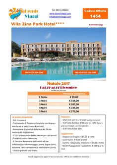 Villa Zina Park Hotel - Custonaci (Tp) #Natale 2017 Per info e preventivi tel 0921428602 Email: info@demirviaggi.com Web: www.demirviaggi.com #Sicilia #Viaggi #LastMinute #Offerte