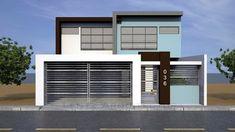 Vaca Rivas Residence - Main Facade