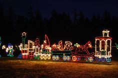 Christmas lights in Seattle