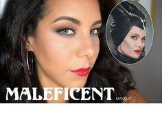 "Maquillaje Angelina Jolie ""Maleficent"" (♡Version Llevable♡)"
