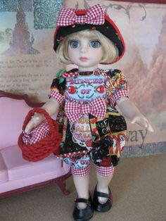 """New Patsy Ann Estelle 10"""" Doll 4pc Outfit w Shoes Called Princess of Quite A Lot 