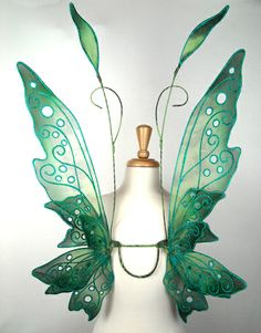 Fairy Wings Green