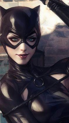 Catwoman by Artgerm Batgirl, Catwoman Comic, Catwoman Cosplay, Batman And Catwoman, Batwoman, Batman Art, Batman Robin, Comic Book Characters, Comic Character