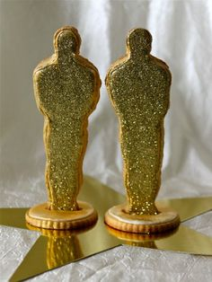 Oscar Statue Cookies