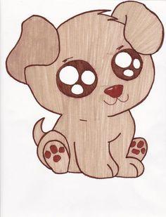 cute+drawings | Cute Puppies Drawings