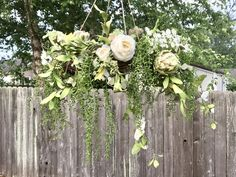 A personal favorite from my Etsy shop https://www.etsy.com/listing/593703917/rustic-wedding-chandelier-floral