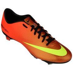 Chuteira Nike Mercurial Vapor IX FG – Laranja - http://batecabeca.com.br/chuteira-nike-mercurial-vapor-ix-fg-laranja-netshoes.html