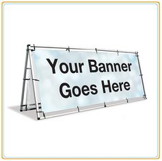 Outdoor/Indoor Functional Removable Frame Banner Stand (100*250cm)