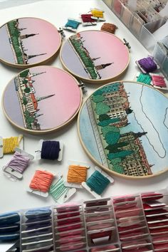 FaimyxStitch - architectural hand embroidery patterns by FaimyCrossStitch Petersburg Russia, Saint Petersburg, Wooden Hoop, Hand Embroidery Patterns, Riga, Beautiful Hands, Etsy Seller, Cotton Fabric, Best Gifts