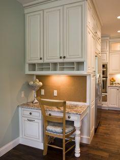 Small Corner Kitchen Desk Design, Pictures, Remodel, Decor and Ideas - page 2