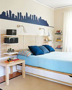 Does your home need some storage TLC? You may be missing one of these storage staples to help organize your stuff and clear the clutter. Narrow Shelves, Open Shelving, Diy Shelving, Wall Storage Systems, Storage Spaces, Storage Ideas, Shelves In Bedroom, Bedroom Storage, Contemporary Shelving