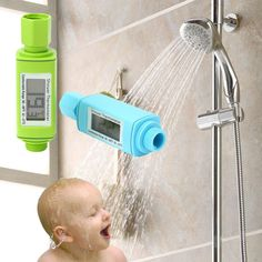 Loskii LM-303 Digital Shower Head Water Thermometer