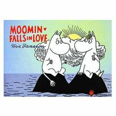 Moomin Falls in Love by Tove Jansson #muumit