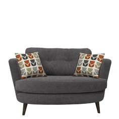 Myers - Oval Cuddler   Chairs   Living Room