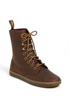 Martens 'Tehani' boot // Just bought myself some of these! Dr. Martens, Dr Martens Boots, Men's Shoes, Shoe Boots, Shoe Bag, Shoe Carnival, Dream Shoes, Lace Up Boots, Bag Accessories