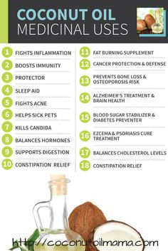 Share Tweet Pin Mail Coconut Oil Coconut oil might just be the most versatile health food on the planet. Not only is it my ...
