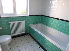 Image result for 1930s bathroom 1930s Bathroom, Bathrooms, Topps Tiles, Granny Chic, Bath Design, Guest Bath, Corner Bathtub, Bathroom Designs, Bathroom Ideas
