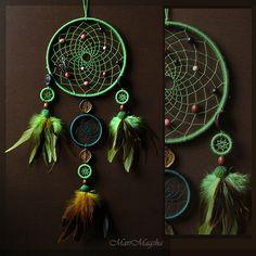 """Ловец снов """"Леса Амазонии"""" - ловец снов,ловец сновидений,ловцы снов,ловушка для снов"""