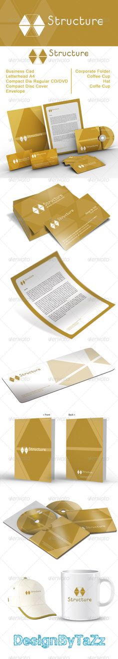 Structure Corporate Identity Package
