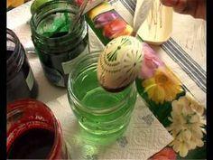 Sorbische Ostereier selbst herstellen – Wachstechnik zu Hause anwenden