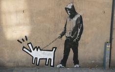 banksy | Ixotype - Banksy Harding Dog