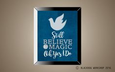 A personal favorite from my Etsy shop https://www.etsy.com/listing/483536969/coldplay-inspired-magic-poster-print
