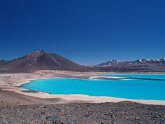 Unique & Bizarre Lakes: Highest Elevation Lake - Ojos del Salado, Argentina/Chile