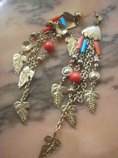 Earrings southwest look long dangles $8.00 at Ovyee Jewelry store on Bonanza