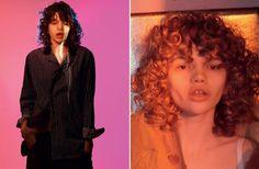 'Frayed Beauty' by David Sims for Love SS 2015 David Sims, Editorial, Ruffle Blouse, Ss, January, Hair, Shades, Beauty, Studio