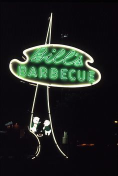 Bill's Barbecue, Richmond, VA, 1992 by Dean Jeffrey, via Flickr