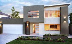 Model rumah minimalis 2 lantai mewah
