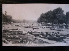 View on the River, Henley-on-Thames, Oxfordshire posted 1907 (LL) well animated | eBay