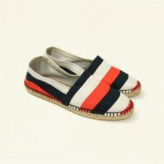 stripe traditional espadrille made by castaner