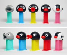 Pingu Mini-Pez??? I need these!