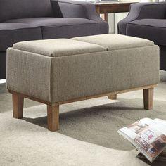 Convenience Concepts Designs4Comfort Storage Ottoman & Reviews | Wayfair
