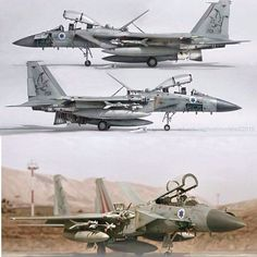 """Boeing F-15 Ds Israeli Air Force """"Improved Baz"""""""