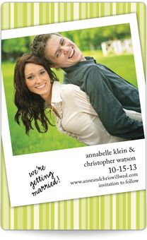 Save the Date Magnets - Snapshot in Time