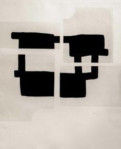 Artwork by Eduardo Chillida, Lau, Made of etching